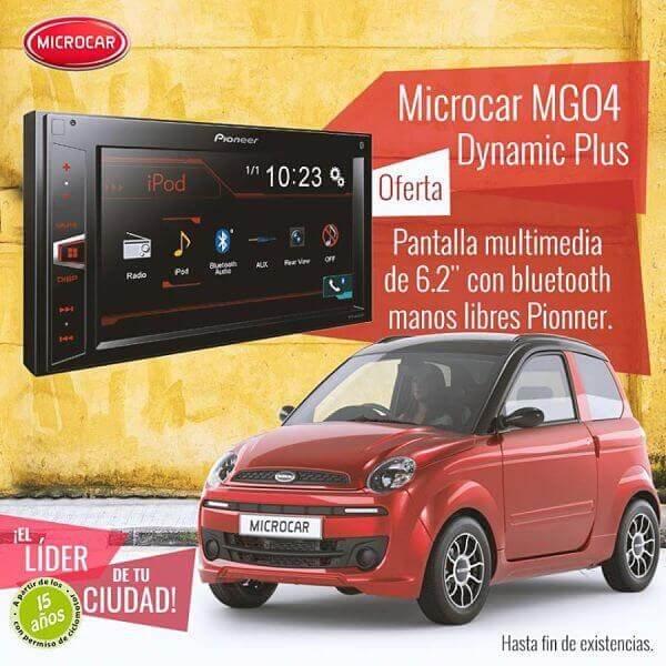Microcar MGO4 Pioneer